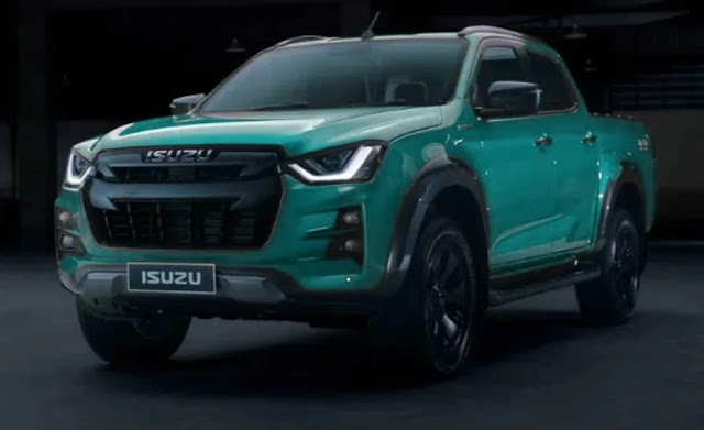 Isuzu has launch 2020 D-max in Thailand.