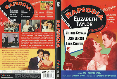 Carátula dvd: Rapsodia 1954