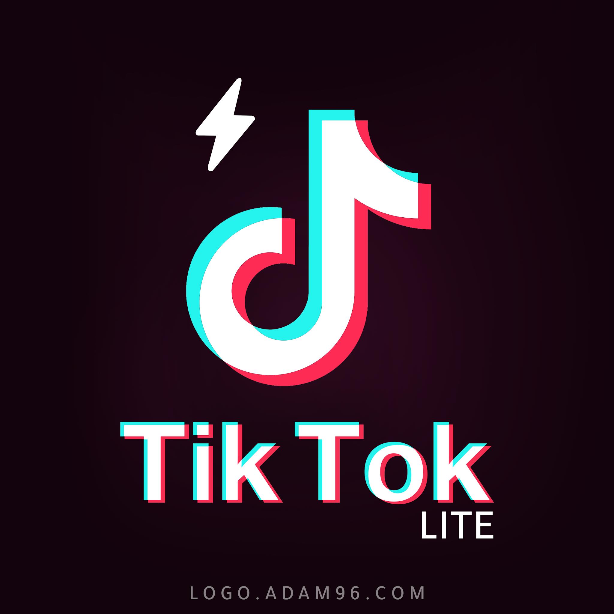 تحميل شعار تيك توك لايت بحجم كبير لوجو عالي الدقة بصيغة شفافة Logo Tik Tok Lite PNG