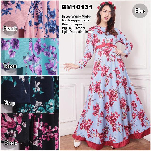 Bursa Grosir Busana Muslim Tanah Abang Bm10131 Long Dress