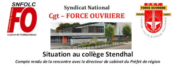 TRAFIC DE DROGUE AU COLLÈGE STENDHAL : UN DANGER GRAVE ET IMMINENT