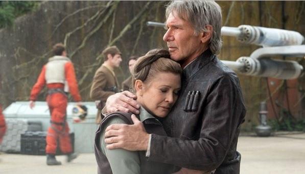 Han Solo y Princesa Leia Organa