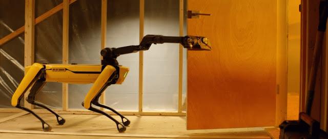 Robot SPOT - Siap untuk Pekerjaan Berat