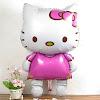 Balon Foil Hello Kitty Baru