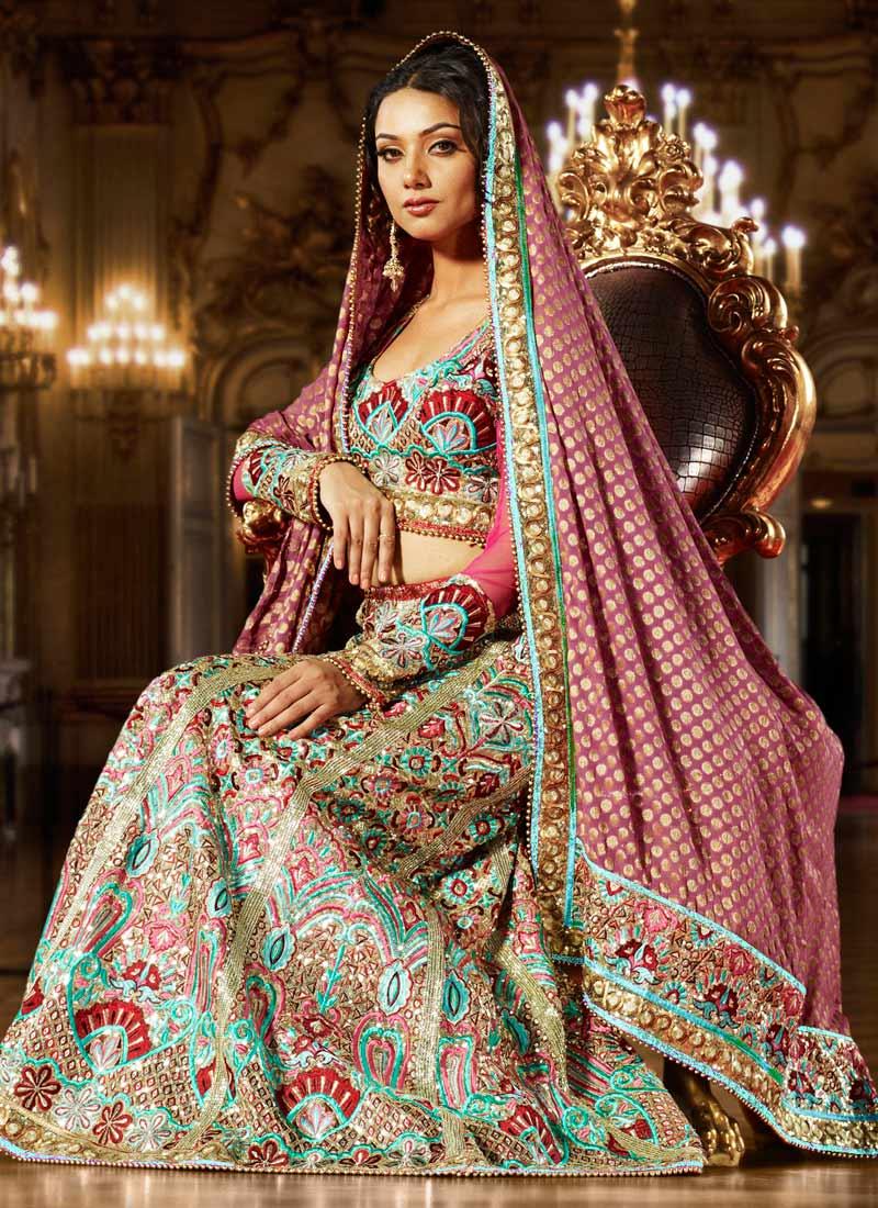 Latest Pakistani Bridal Lehenga Styles Brides Fashion