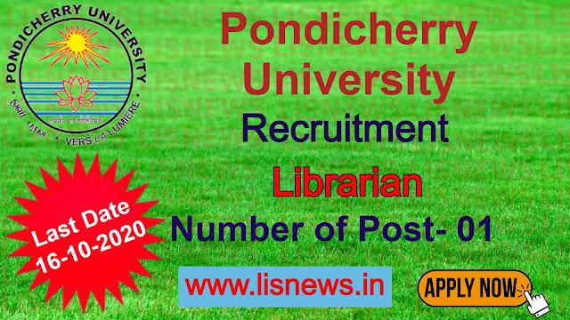 Librarian at Pondicherry University