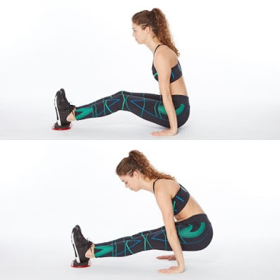 Reverse Plank Hover