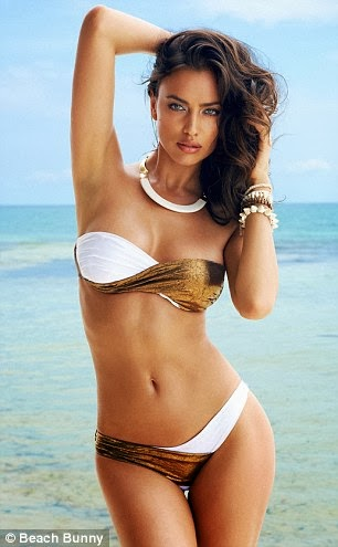 Irina Shayk is the ultimate Beach Bunny babe!