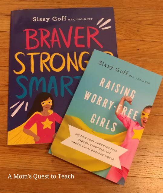 photo of books Braver, Stronger, Smarter and Raising Worry-Free Girls