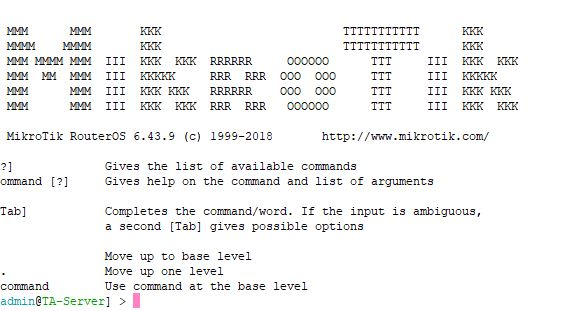 Basic Commands Of MikroTik For Beginers