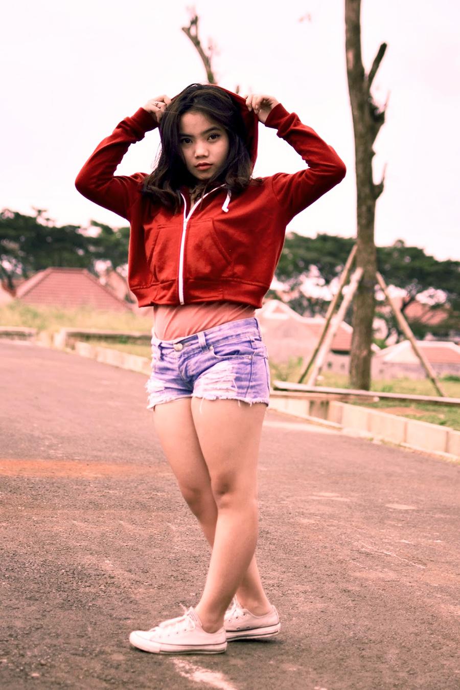 foto model IGO Sella ABG Malang tembem
