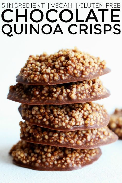 CHOCOLATE QUINOA CRISPS #recipes #healthyideas #healthyrecipes #snackideas #healthysnackideas #food #foodporn #healthy #yummy #instafood #foodie #delicious #dinner #breakfast #dessert #yum #lunch #vegan #cake #eatclean #homemade #diet #healthyfood #cleaneating #foodstagram