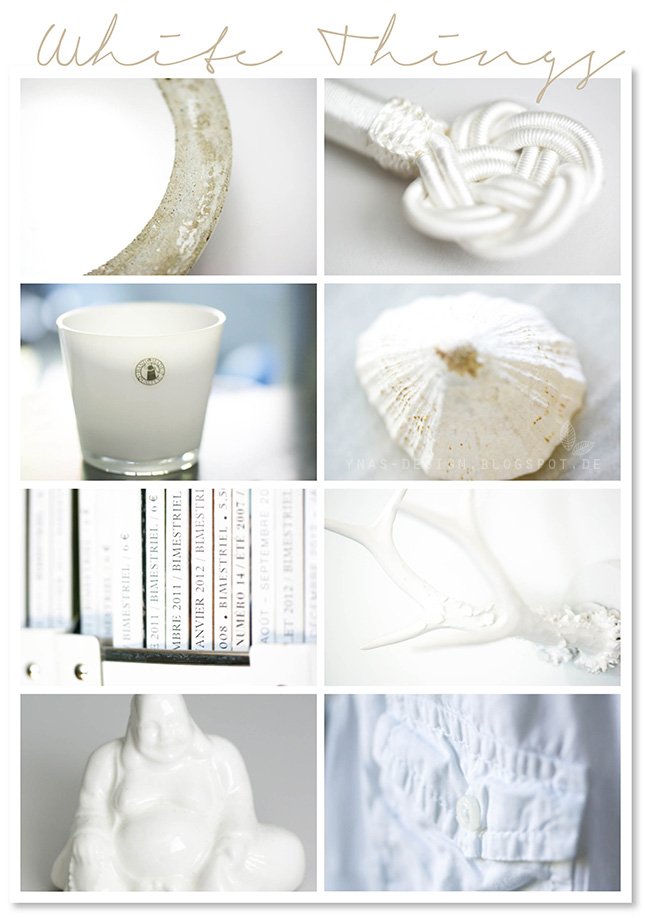 Ynas Design Blog, White Things