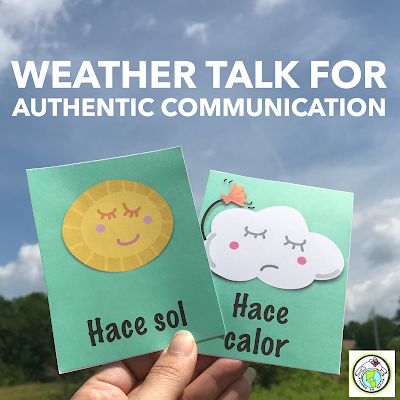 Weather Talk for Authentic communication in world language classes