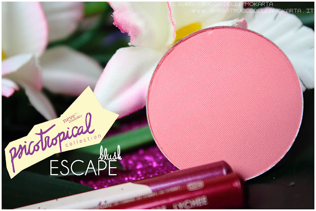 blush fard ESCAPE psicotropical collection neve cosmetics