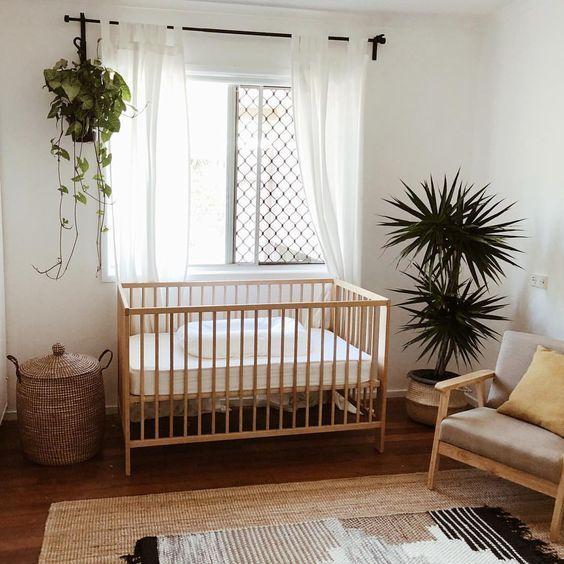 Quarto de bebê boho, quarto de bebê hippie, quartos de bebê neutro, quartos de bebê simples, quartos de bebê, quartos hippie, quartos boho, quartos de bebê sem genero