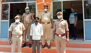 कोतवाली पुलिस ने अभियुक्त को किया गिरफ्तार  | #NayaSaberaNetwork