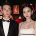 Angelababy & Huang Xiaoming posam para fotos no lançamento da exibição 'Christian Dior, couturier du rêve' comemorando 70 anos de criação, em Paris, França – 03/07/2017