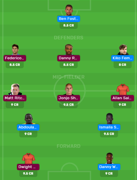 WAT vs NEW Dream11 Predictions for Today's Match.