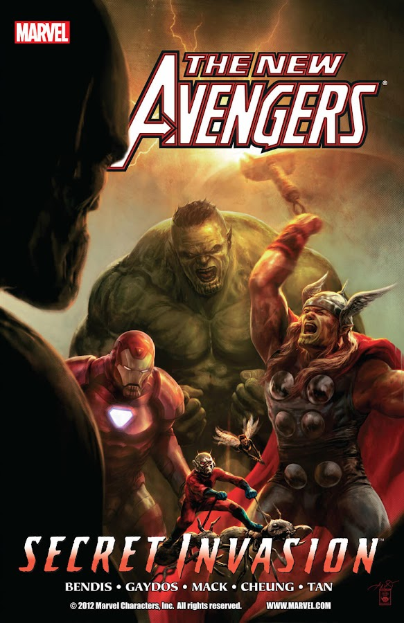 new avengers secret invasion marvel comics brian michael bendis billy tan david mack jim cheung michael gaydos