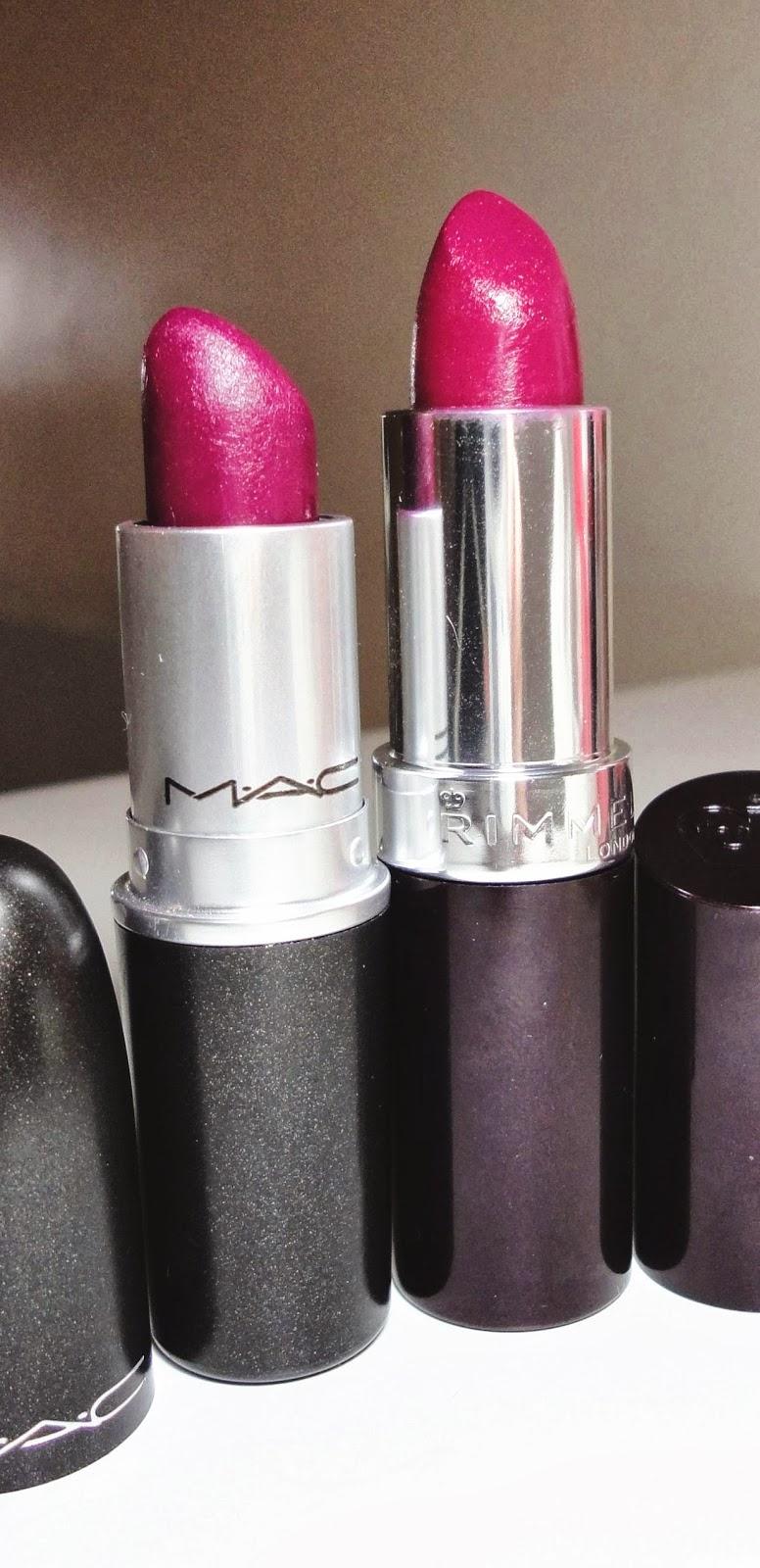 Little Black Lipstick: $5 MAC Rebel Lipstick Dupe