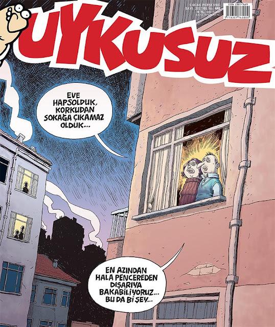 Uykusuz Dergisi | 5 Ocak 2017 Kapak Karikatürü