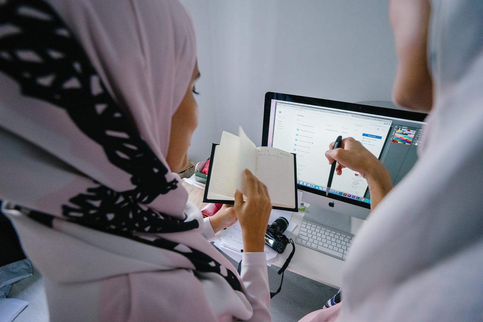 Tutorial Hijab Ke Kantor Anti Ribet Dan Anti Geser Fuji Astyani S Blog