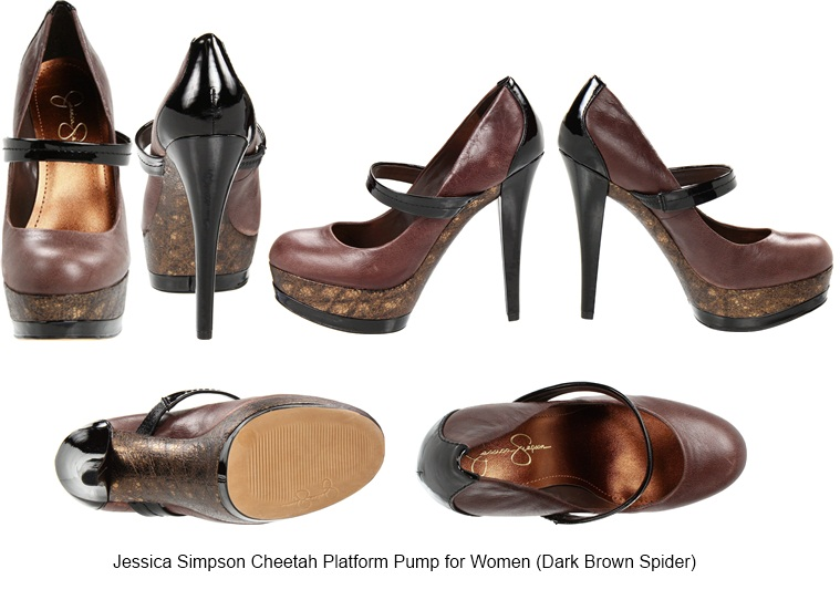 914b385be4eb Jessica Simpson Cheetah Platform Pump for Women (Dark Brown Spider)