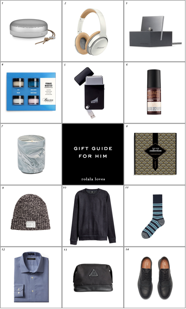 Gift Guide, Gifts for Him, Gifts for Men, Gifts for Guys, Gift Ideas, Holiday Gifting