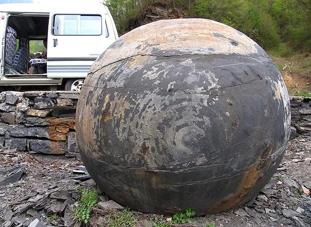 esferas8 - El misterio de las PETROESFERAS dispersas por el planeta con ENIGMÁTICO significado