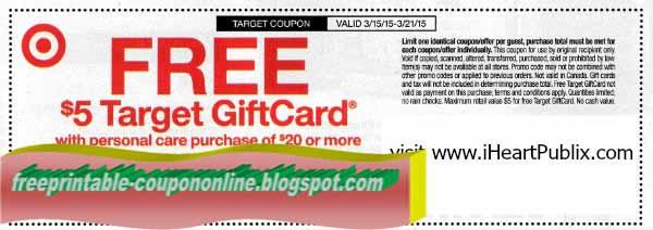 Target baby printable coupons 2018