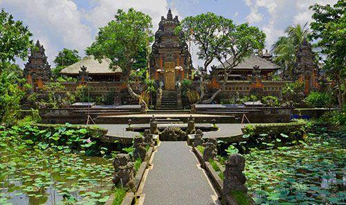 Pura Taman Saraswati Temple - Ubud Day Trip, Ubud map