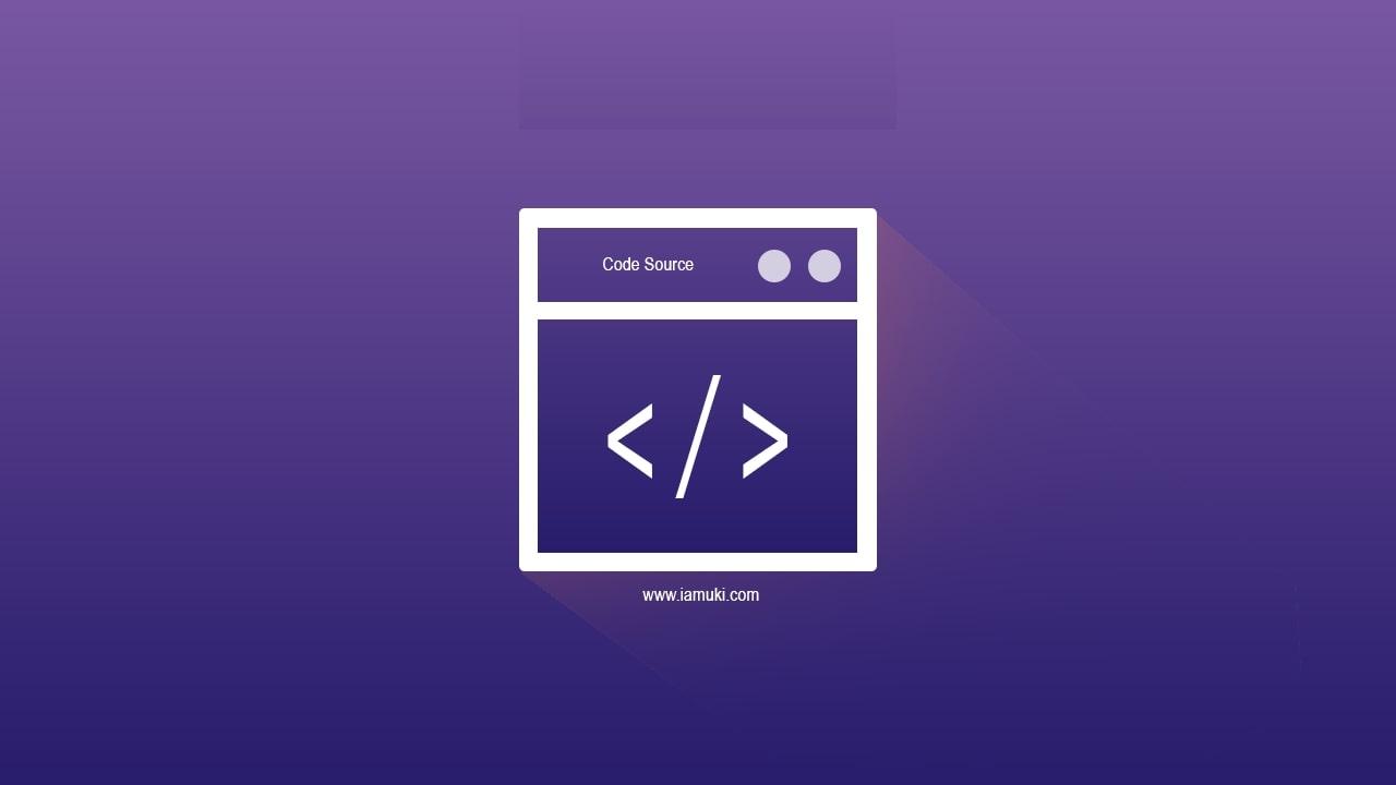 Cara melihat kode source