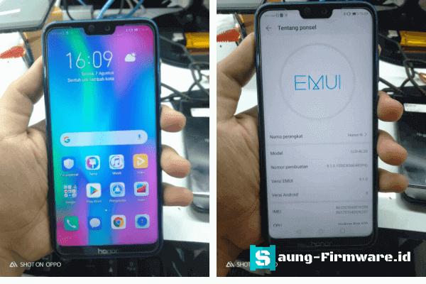 Bypass FRP Huawei Honor 9i LLD-AL20 by Test Point | Talkback Not Working
