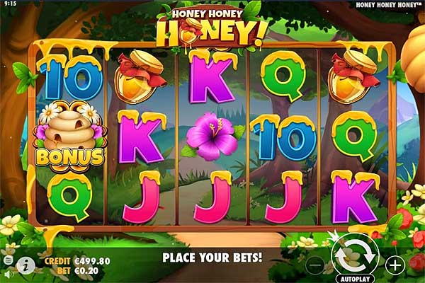 Main Gratis Slot Indonesia - Honey Honey Honey (Pragmatic Play)