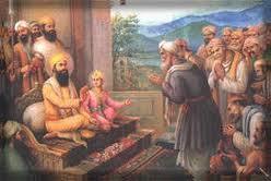 गुरु तेगबहादुर-(हिन्द की चादर) --सीस दिआ पर सिरड न दिआ !