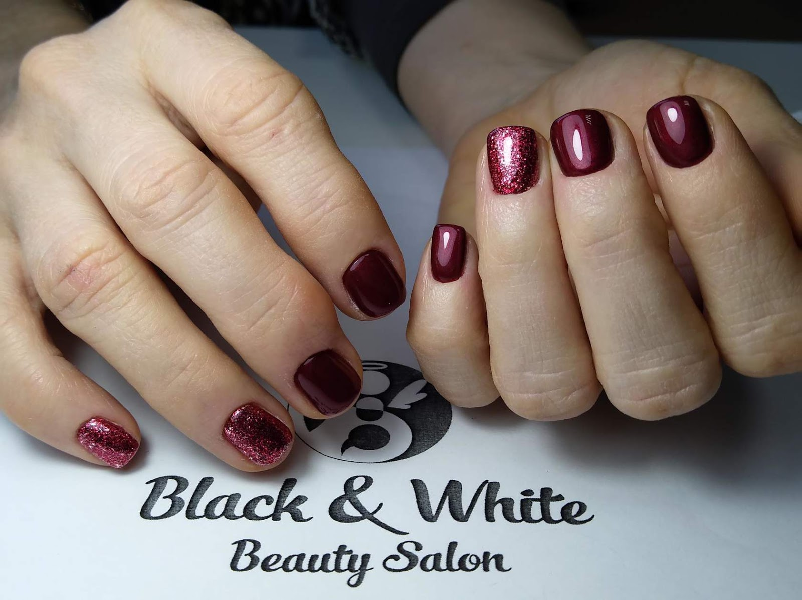 Black & White Nails Art Disign: Las Vegas Hair And Nail Convention