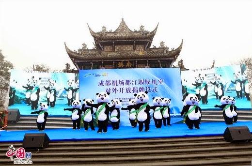 Templo sagrado de los pandas