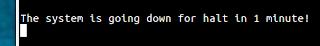 Automatsko gašenje sustava, Ubuntu Ubuntu Terminal trikovi