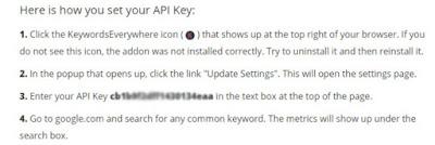 Keyword everywhere keyword tool termudah untuk masuk page one Google Tutorial: Keyword everywhere keyword tool termudah untuk masuk page one Google