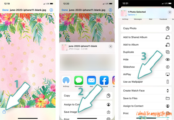 How to change wallpaper on iphones.