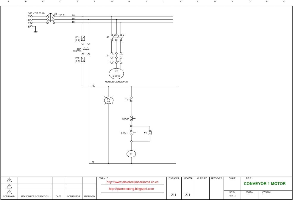 basic start stop wiring diagram