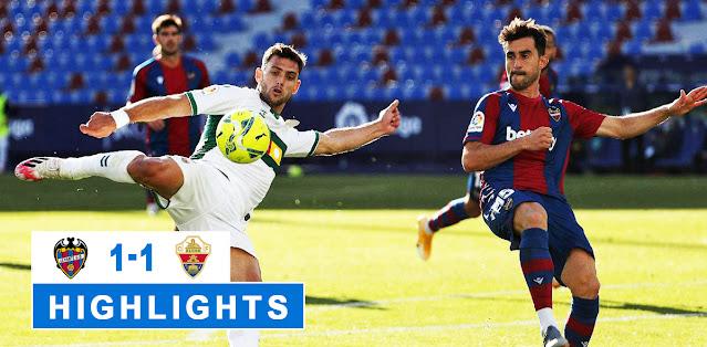 Levante vs Elche – Highlights