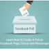 Create A Facebook Poll