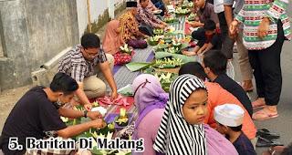 Baritan Di Malang merupakan salah satu tradisi unik 17an di berbagai daerah Indonesia