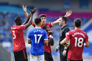 نهاية مباراة مانشستر يونايتد و برايتون اليوم 26-9-2020 في الدوري الانجليزي الممتاز