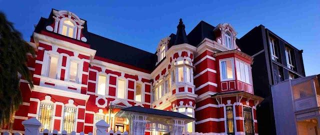 Hotel Palacio Astoreca, Valparaiso, Chile.