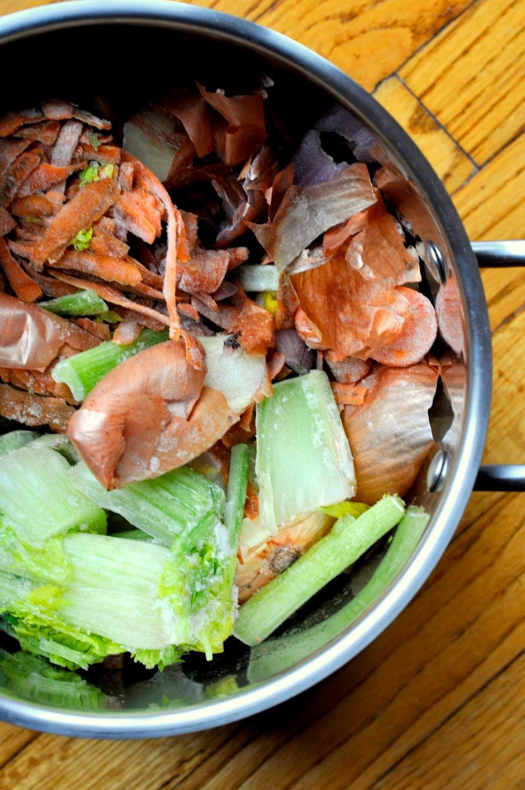 Homemade Vegetable Broth | Taste As You Go