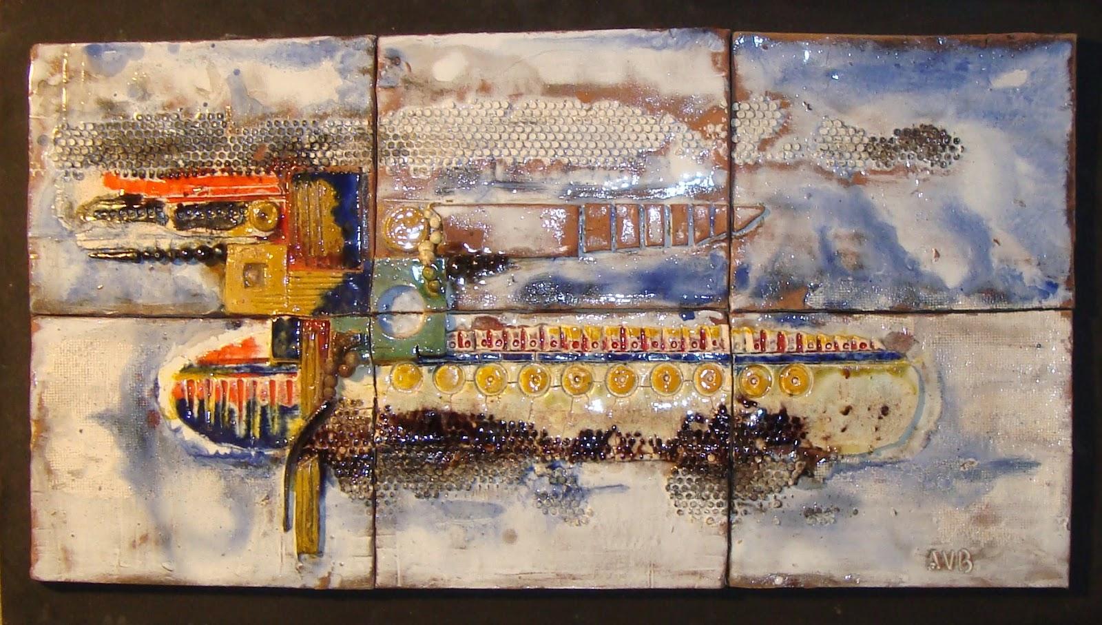 Ceramica artistica villanueva murales esmaltados en ceramica - Murales de ceramica artistica ...