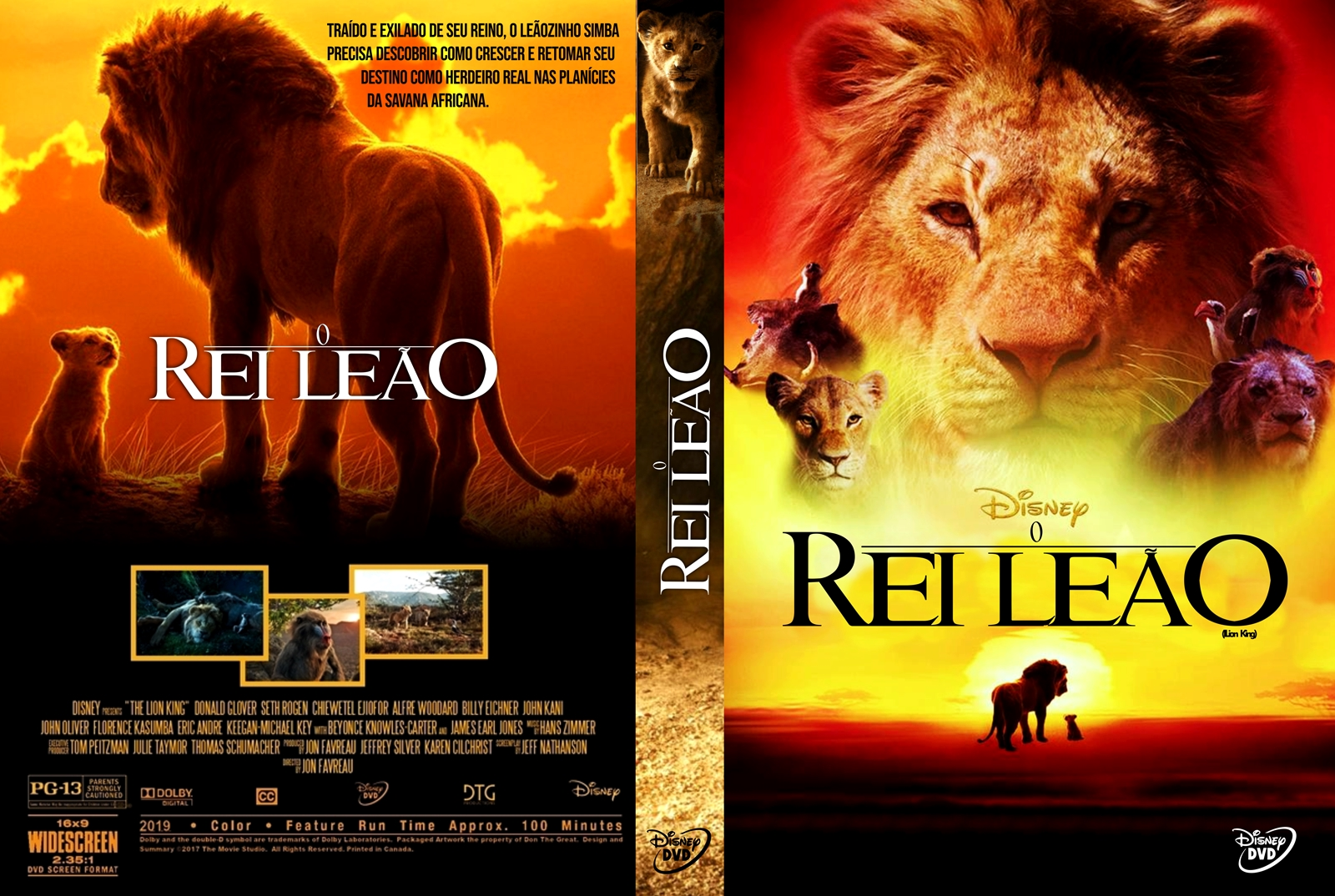 Filme rei leão 2019